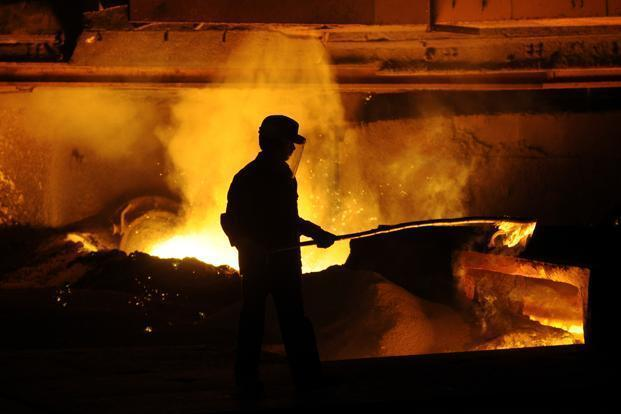 Lloyds Steel, with a production capacity of 1 million tonne per annum, has been reporting losses in the last few years. Photo: Aniruddha Chowdhury/Mint
