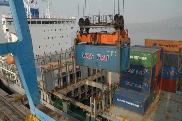The problem of oversupply of vessels continues to put pressure on freight rates, affecting the financial health of local shipping firms. Photo: Mint