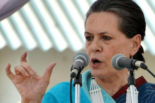 Time and again Sonia Gandhi has reminded us about her political sense. First, in launching the rural employment guarantee scheme and later the right to information and right to education. Photo: PTI (PTI)