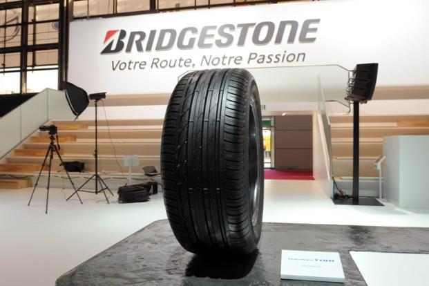 Bridgestone also posted an upbeat forecast for the current year, saying it expects a 37% jump in net profit to 235 billion yen from 2012 on sales of 3.55 trillion yen, up 17%, thanks to the weakening yen. Photo: AFP