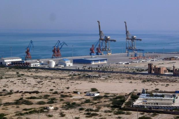 The port of Gwadar on Pakistan's Makran coast. China's acquisition of the strategic port in Pakistan is the latest addition to its drive to secure energy and maritime routes and gives it a potential naval base in the Arabian Sea, unsettling India. Photo: Behram Baloch/AFP  (Behram Baloch/AFP )