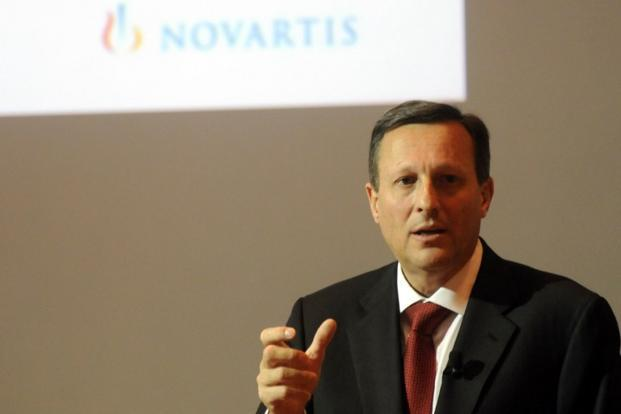 A file photo of Novartis outgoing chairman Daniel Vasella. Photo: AFP