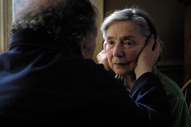 Emmanuelle Riva in a scene from the movie Amour. Photo: www.sonyclassics.com/amour/