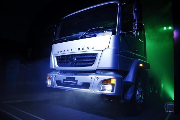 The company has so far sold more than 1,000 BharatBenz trucks in India in the five months since its launch and will be launching 12 more trucks this year besides expanding dealerships. Photo: Satish Kaushik/Mint