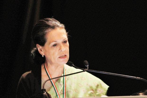 Congress president Sonia Gandhi. NAC's proposals could reinforce the Congress's support among Dalits and tribespeople in a year the country faces a raft of state polls leading up to general elections in 2014. Photo: PTI