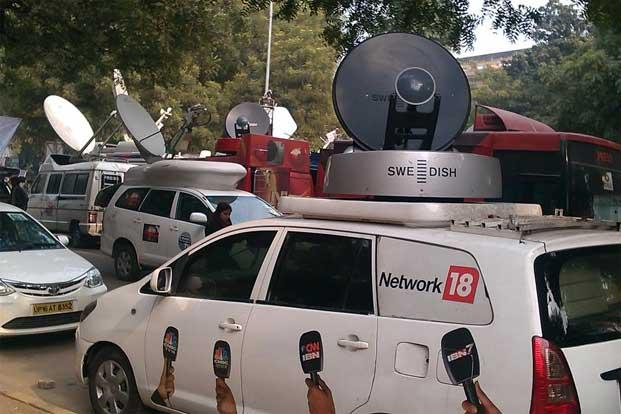 Network18 Media and Investments posted a consolidated net profit of `6.84 crore for October-December 2012 period, after many quarters of loss. Photo: Mint