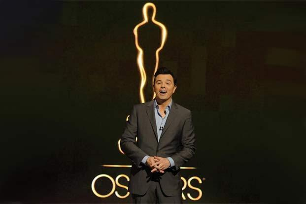 2013 Oscar host Seth MacFarlane presents the Academy nominations for the 85th Academy Awards in Beverly Hills, California on 13 January 2013. Photo: Chris Pizzello/AP