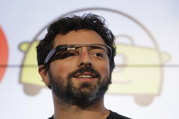 Google glasses that overlay the Internet on daily lives should hit the market in a little more than a year—technology the tech giant hopes will someday make fumbling with smartphones obsolete. Photo: AP