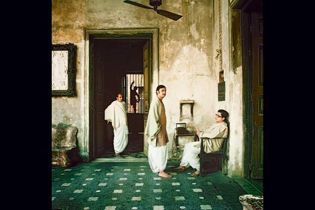 The owners of Marble Palace, Calcutta, 1977. Photographs by Derry Moore