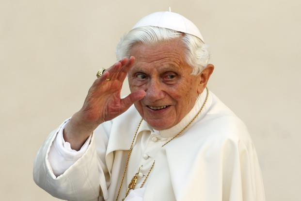A file photo of Pope Benedict XVI. Photo: Reuters