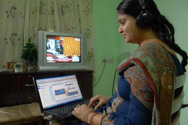 TutorVista has 1,300 employees across online tutoring, school management, Internet and communication technologies, and test prep and tuition. Photo: Hemant Mishra/Mint (Hemant Mishra/Mint)