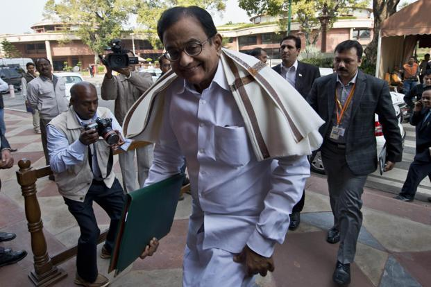 It is highly unlikely finance minister P. Chidambaram will deviate from his commitment to fiscal responsibility in this year's budget. Photo: Prakash Singh/AFP