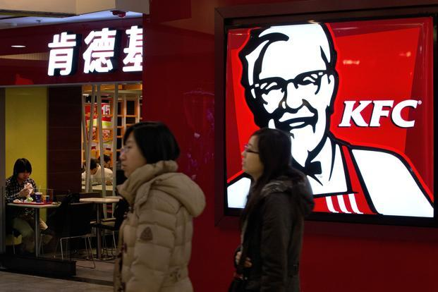 KFC said more than 1,000 small producers used by its 25 poultry suppliers have been eliminated from its network. Photo: AP