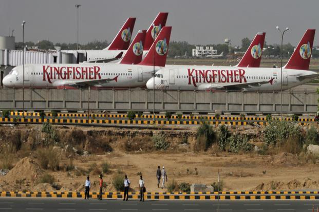 Kingfisher Airlines flew to eight countries and these traffic rights were allocated to the firm between 2008 and 2011. Photo: Parivartan Sharma/Reuters