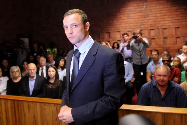 A file photo of Oscar Pistorius. Photo: AP
