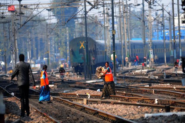 The Indian Railways has been starved of investment even as countries such as China have been on a railway-building spree. Photo: Ramesh Pathania/Mint