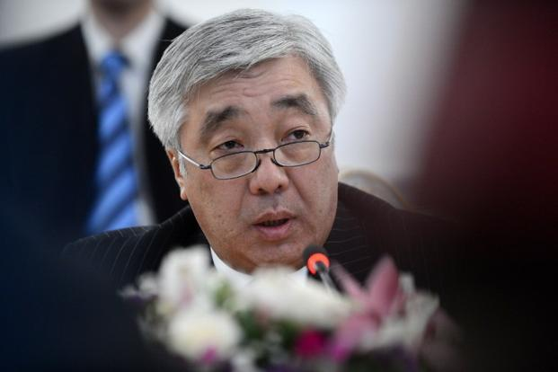 Erlan Idrissov is the first Kazakh foreign minister to visit India for bilateral talks in more than a decade. Photo:Kirill Kudryavtsev/AFP (Kirill Kudryavtsev/AFP)