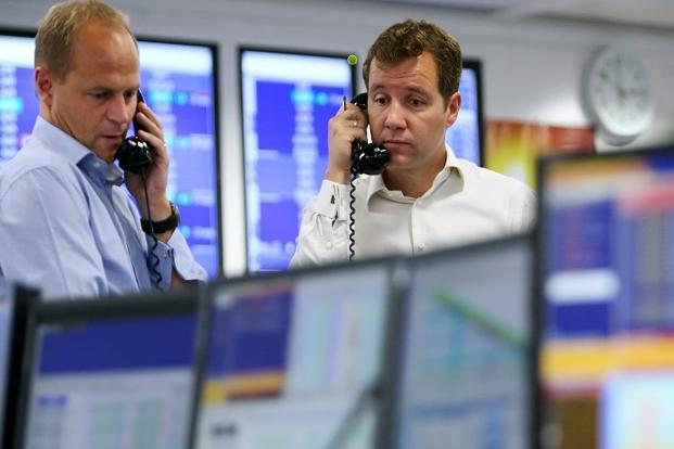 The FTSE 100 closed up 86.32 points, or 1.4%, at 6,431.95, its highest close since January 2008. Photo: AFP
