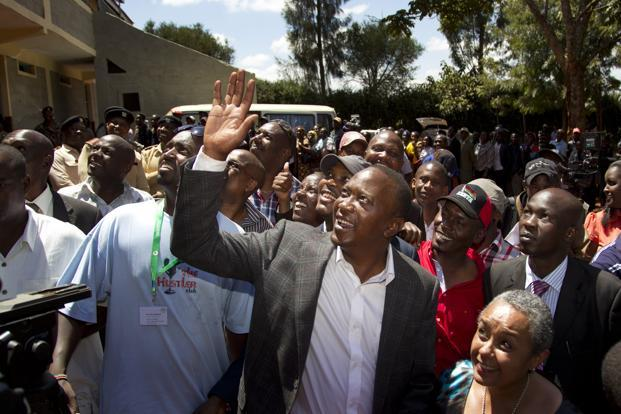 Deputy prime minister Uhuru Kenyatta has kept an early lead since results started trickling in after polls closed on Monday. Photo: Ben Curtis/ AP (Ben Curtis/ AP)
