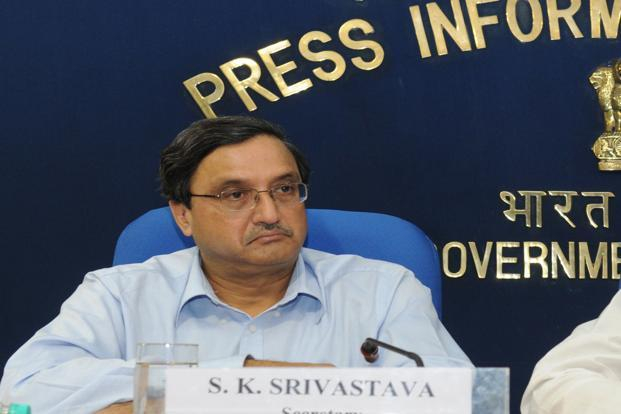 Coal secretary S.K. Srivastava. Photo: PIB