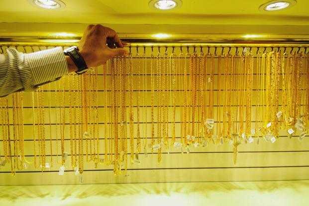 As India continues to struggle with a high current account deficit and tried to curb the imports of the precious metal, jewellery demand fell 3% in 2012, says World Gold Council. Photo: Priyanka Parashar/Mint (Priyanka Parashar/Mint)