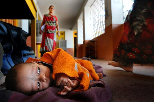 More than half of low birthweight infants are born in South Asia, where more than one in four infants are born with low birthweight. Photo: Priyanka Parashar/Mint