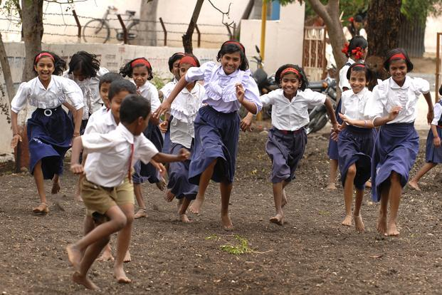 The companies have their own physical education (PE) curriculum and training is provided during school hours. Photo: Abhijit Bhatlekar/ Mint (Abhijit Bhatlekar/ Mint)
