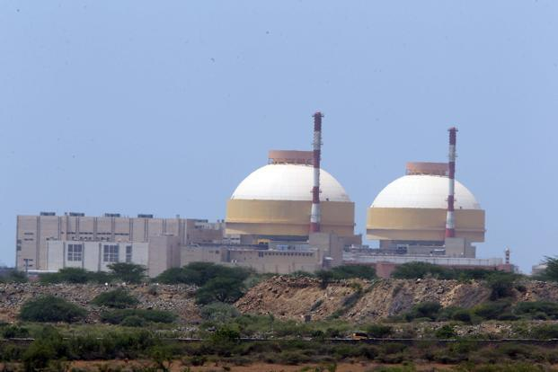 A file photo of Kudankulam nuclear power plant. Photo: Saisen/Mint (Saisen/Mint)