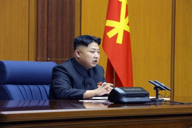 Military tensions on the Korean peninsula have risen to their highest level for years, with the Kim Jong-Un threatening nuclear war in response to UN sanctions imposed after its third atomic test last month. Photo: AFP