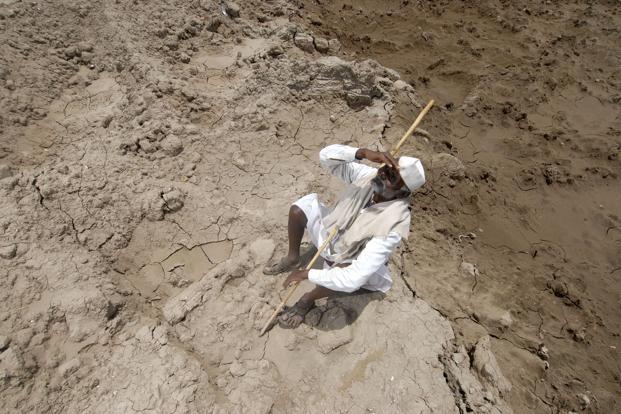 A file photo of a drought-hit region in Maharashtra. Photo: Hemant Mishra/Mint. (Hemant Mishra/Mint.)