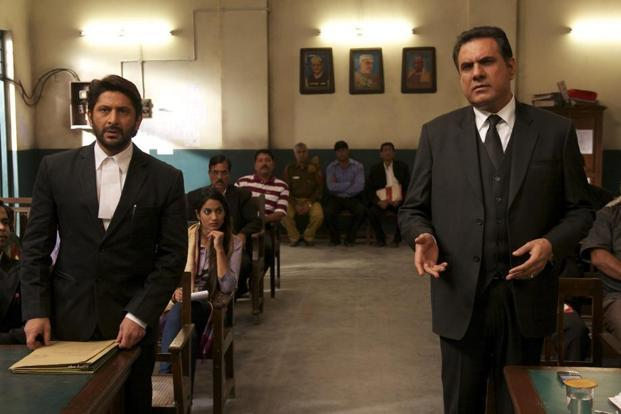 Arshad Warsi (left) and Boman Irani in a still from 'Jolly LLB'