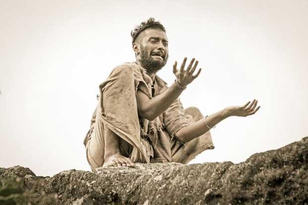 A scene from Paradesi.