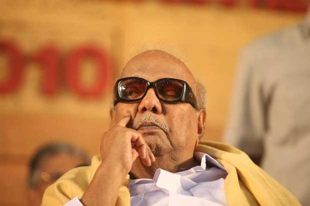 DMK chief M. Karunanidhi. The DMK over the weekend threatened to pull out its ministers from the cabinet if India did not vote in support of a US-sponsored resolution censuring Sri Lanka for its human rights record due on 21 March. Photo: Mint