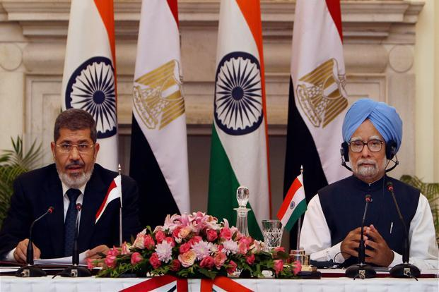 relationship between india egypt