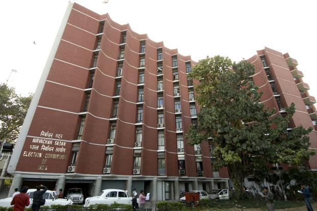 A file photo of the Election Commission of India building in New Delhi.  Photo: Mint