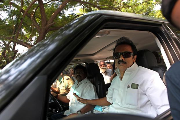 A file photo of M.K. Stalin. Photo: Mint