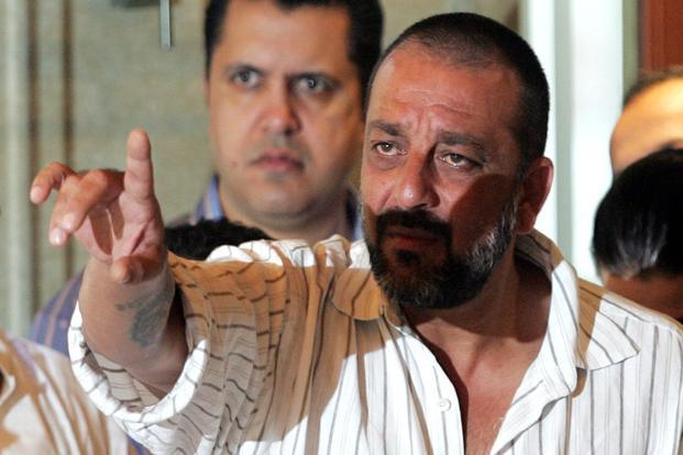 In 2007, Dutt was cleared of conspiracy charges in the Mumbai serial blasts but was found guilty of illegal possession of an AK-56 rifle and a pistol. Photo: Hindustan Times