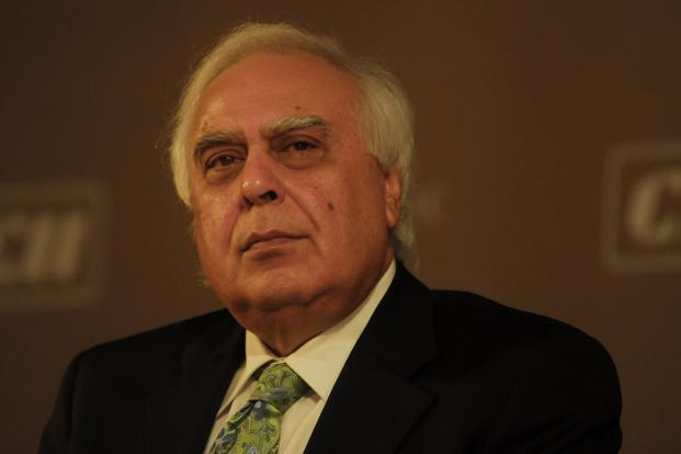 """While the Internet is important for us, India is also necessary for the Internet with its 1.2 billion population,"" says information technology minister Kapil Sibal. Photo: Mint"