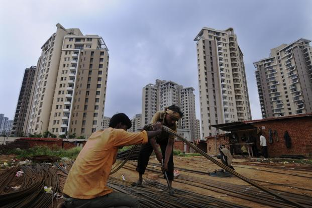 The 2008-09 slowdown depressed demand for both residential and office properties in India. Photo: Ramesh Pathania/Mint