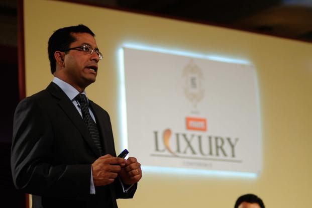 Bain and Co.'s Joydeep Bhattacharya at the Mint Luxury Conference in New Delhi on Friday. Photo: Pradeep Gaur/Mint