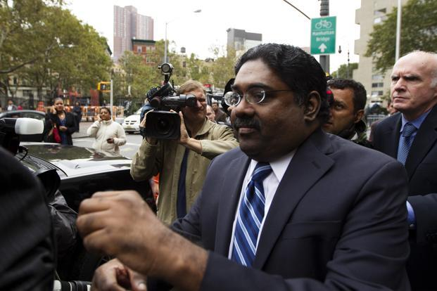 A file photo of Raj Rajaratnam. Prosecutors said Rengan Rajaratnam, 42, conspired with his older brother Raj Rajaratnam to trade on non-public information concerning Clearwire Corp. and Advanced Micro Devices Inc. in 2008. Photo: Reuters