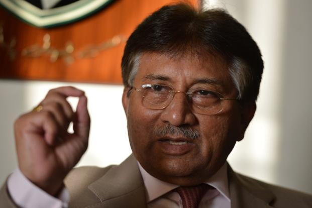A file photo of Pakistan's former military ruler Pervez Musharraf.Photo: AFP