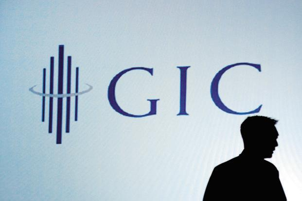 GIC will be one of the anchor investors in the new NBFC. Photo: Munshi Ahmed/Bloomberg