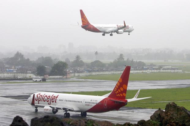 SpiceJet has a 18.4% share of the domestic airline market. Photo: Reuters