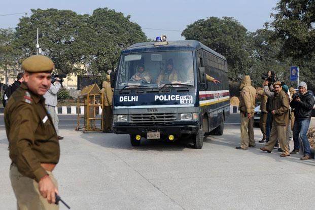 Two men came in a car, had a chat with 62-year-old Deepak Bhardwaj and later opened fire at him, a senior police official said. Photo: AFP (AFP)