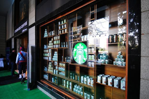 Tata Starbucks Launches Outlet In Delhi Livemint