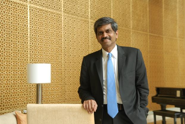 Shivakumar, who joined Nokia in 2006, saw the handset maker's sales surge to a 75% market share in the country and then fall to as low as 40%, amid intense competition from other manufacturers. Photo: Hemant Mishra/Mint.