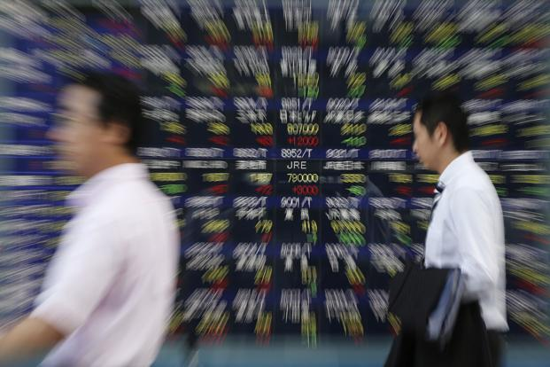 Japan's Nikkei stock Average was trading marginally higher helped by blue chip shares and China's Shanghai Composite was trading flat on Friday morning. Photo: Reuters