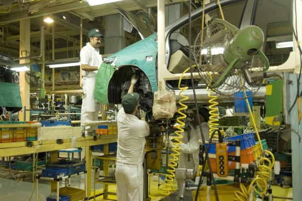 A file photo of a Honda plant in Uttar Pradesh. Photo: Ramesh Pathania/Mint