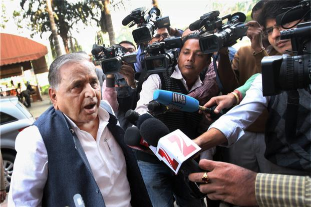 A file photo of Samajwadi Party chief Mulayam Singh Yadav. Photo: PTI